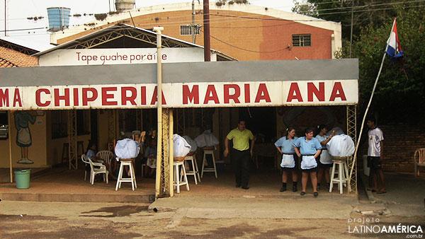 paraguai chiperia