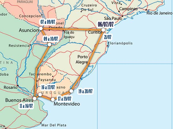 Viagem de ônibus pela América Latina II