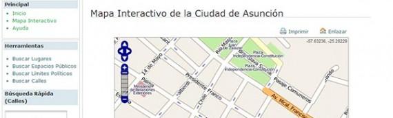 Mapa de Assunção Interativo