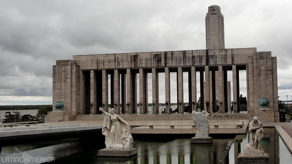 Monumento Histórico Nacional a la Bandera, Rosario, Argentina.