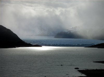 Vista do Glaciar Perito Moreno, El Calafate, Argentina