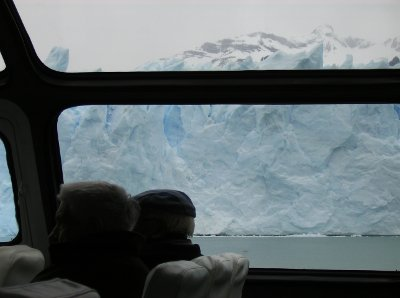 Perito Moreno, vista do barco