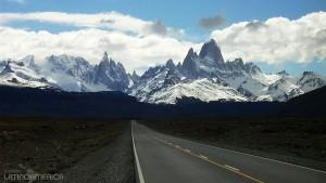De El Calafate para El Chaltén, na Argentina