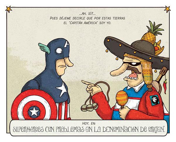 Alberto Monnt: Capitan América