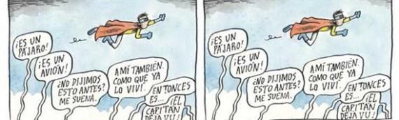 Liniers: Capitão Déjà vu