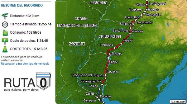Ruta 0 te diz qual a melhor estrada na Argentina