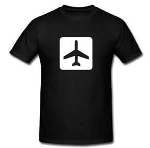 camiseta para viagem