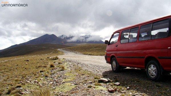 Indo a Chacaltaya, La Paz, Bolívia