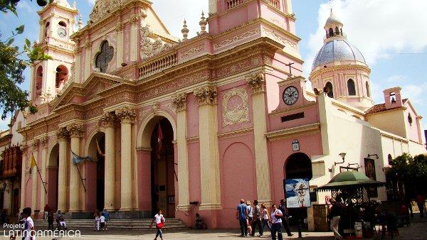 Distâncias desde Salta, Argentina