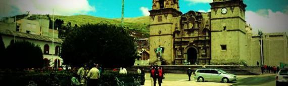 Cidade de Puno, no Peru