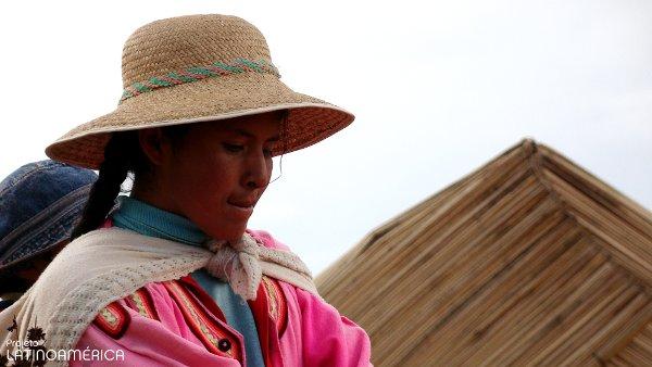 Uros, Puno, Peru.