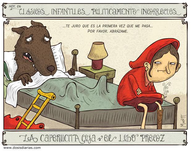 Alberto Montt: Caperucita coja