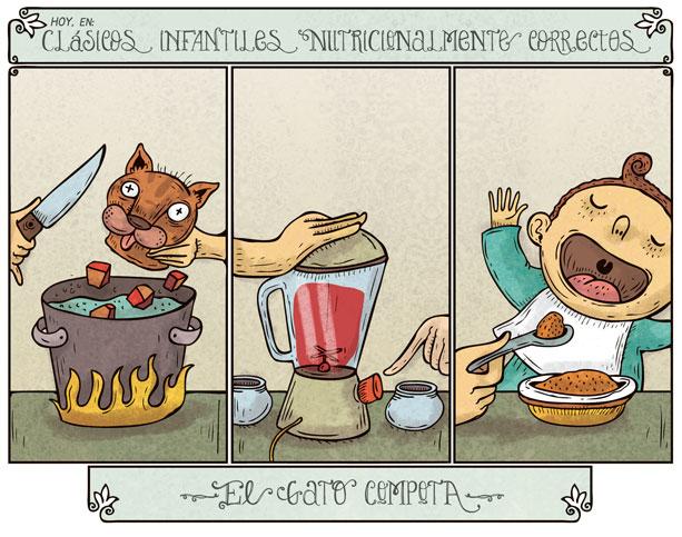 Alberto Montt: Gato Compota