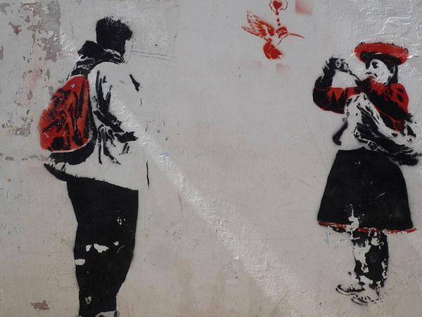 stencil Peru