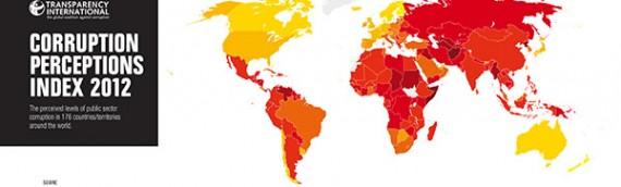 Corrupção na América Latina – Ranking 2012