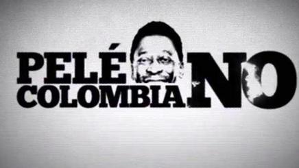 Pelé, colombia no