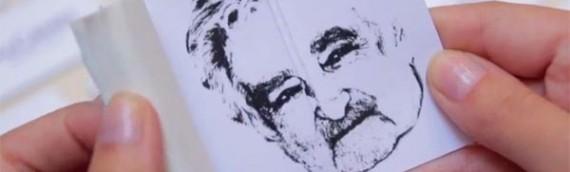 Agência uruguaia homenageia Mujica com brinde inusitado