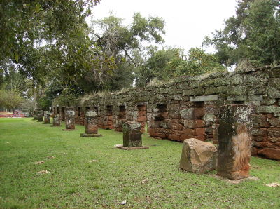 Ruínas de San Ignacio Mini