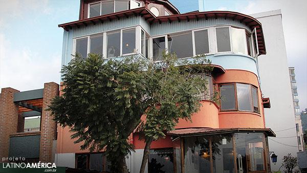Casa de Pablo Neruda em Valparaiso - La Sebastiana