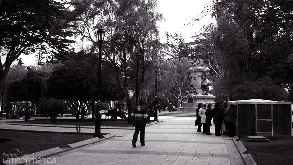 Plaza de Armas, Punta Arenas, Chile