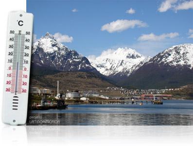 Temperatura na Argentina