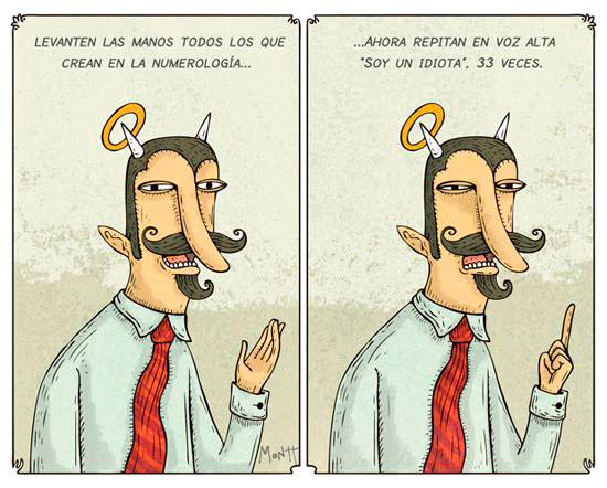 Alberto Montt: Numerologia