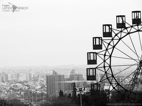 Vista da cidade de Córdoba, na Argentina.