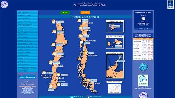Meteorologia-Chile