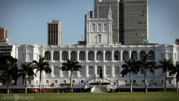 Paraguai, Palácio de governo