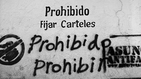 Proibido proibir - Assunção, Paraguai