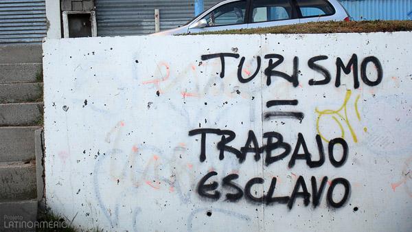 Turismo igual a trabalho escravo