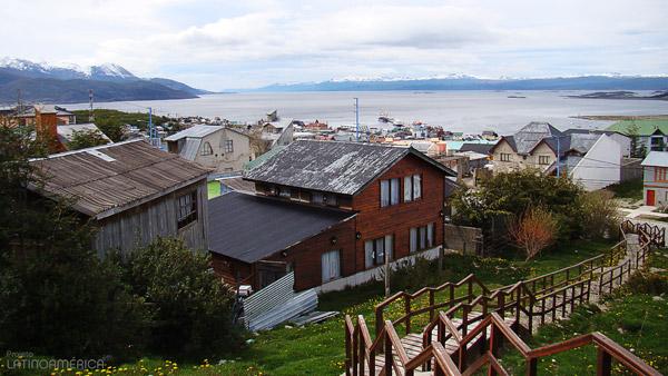 Vista da cidade de Ushuaia