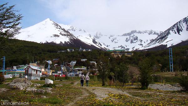 Caminhando pela cidade de Ushuaia