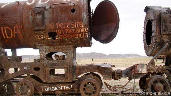 Cementerio de trenes, Uyuni, Bolívia