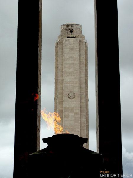 Monumento a bandeira, Rosário, Argentina